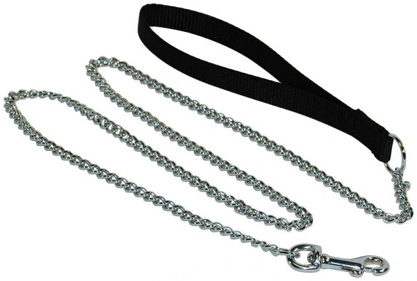 Chain leashes are best used for training